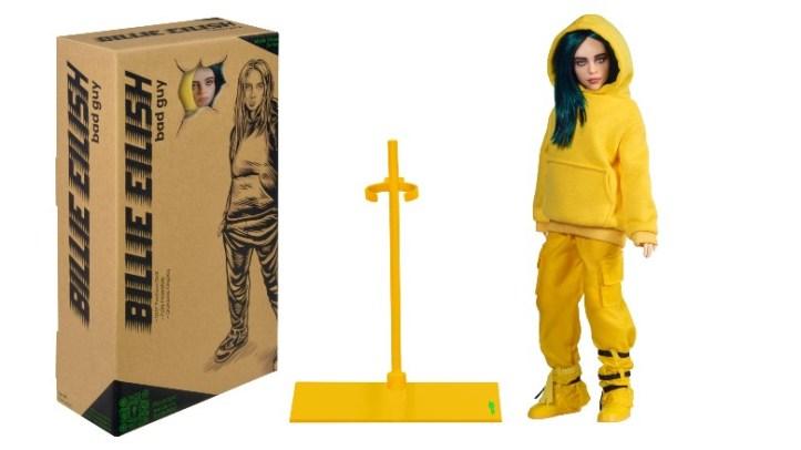Billie Eilish doll plus recyclable box