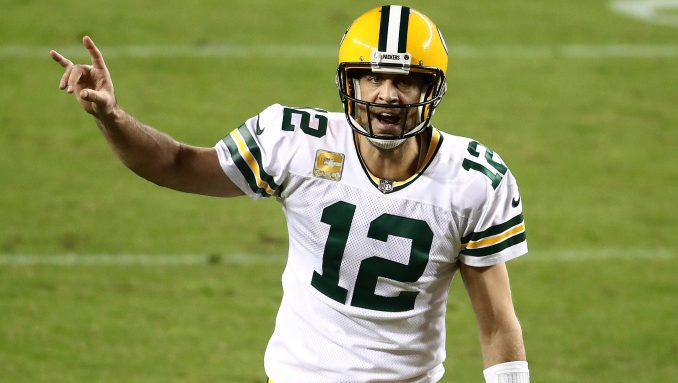 Rodgers Bears Roughing