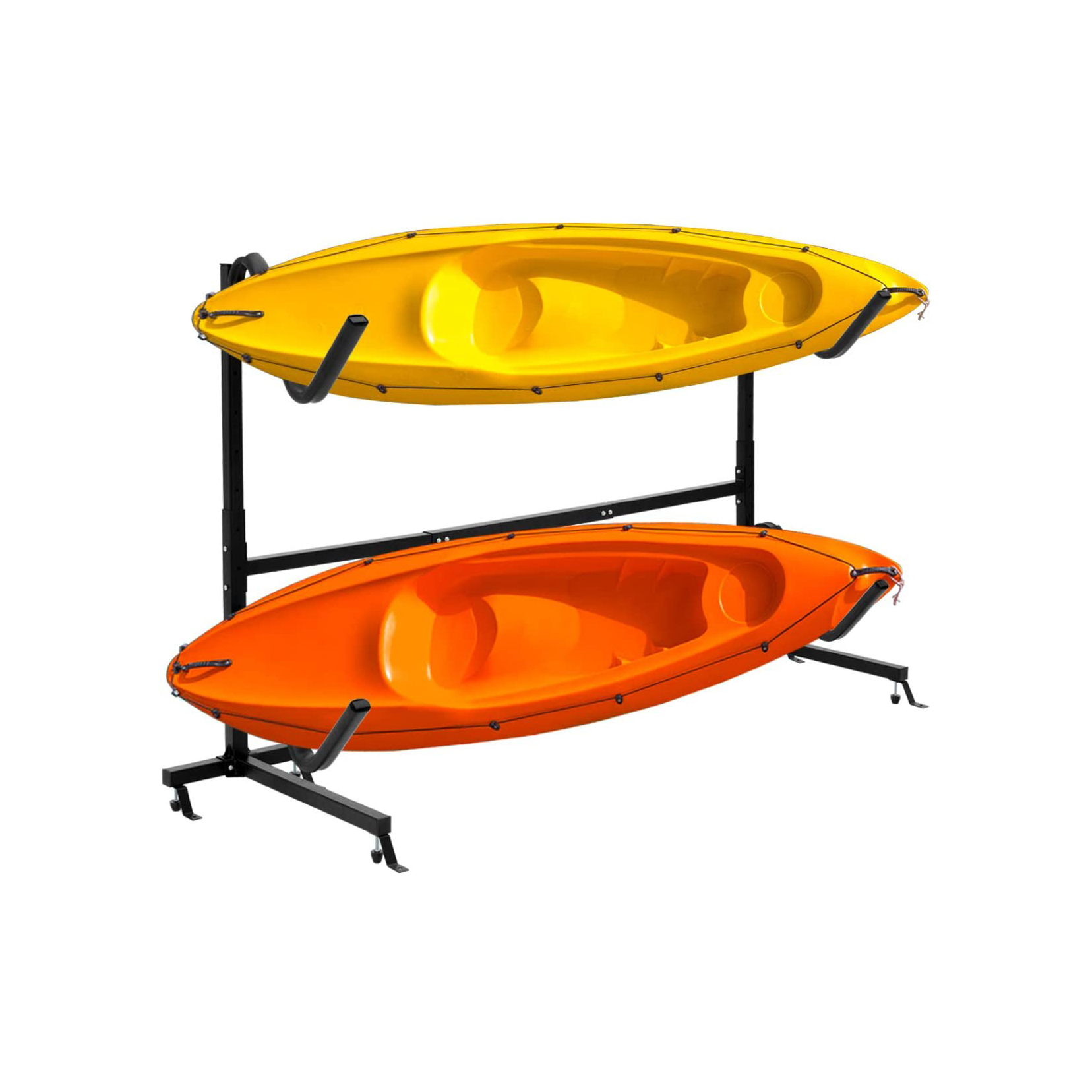 The KS12 has 9 to 12 individual rack slips for kayaks canoes stand-up paddleboards SUPs or mixed combinations and is equipped with rollers to prevent. 11 Best Kayak Storage Options 2021 Heavy Com