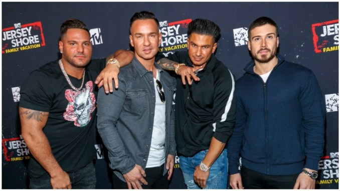 The guys of Jersey Shore