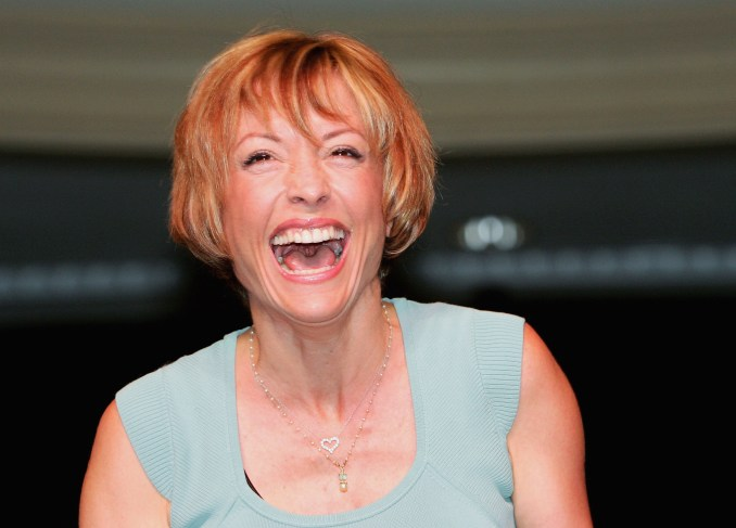 Actress Nana Visitor, who played the character Kira Nerys on the television series