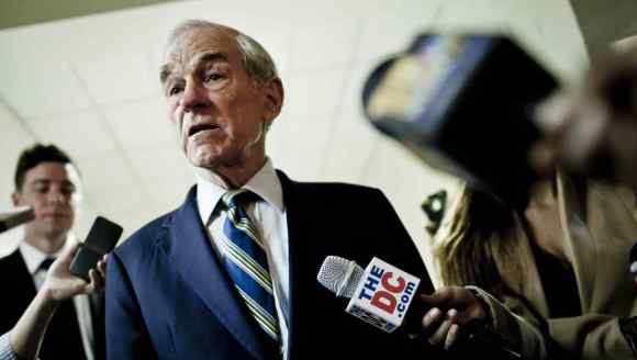 Ron Paul's Facebook account was blocked.