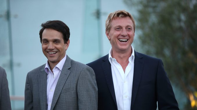 Ralph Macchio and William Zabka Cobra Kai