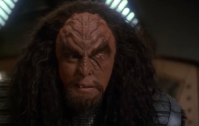 "J.G. Hertzler as General Martok on ""Star Trek: Deep Space Nine"""