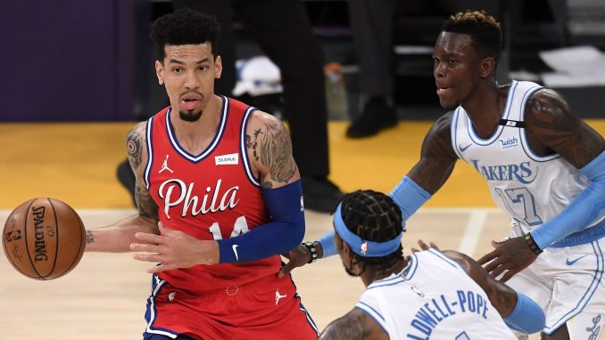 The Danny Green (left) for Dennis Schroder deal worked out for the Sixers, in the end.