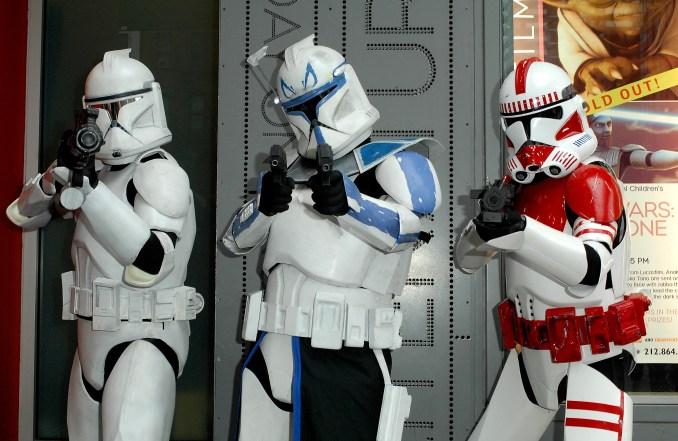 Star Wars The Clone Wars Troopers
