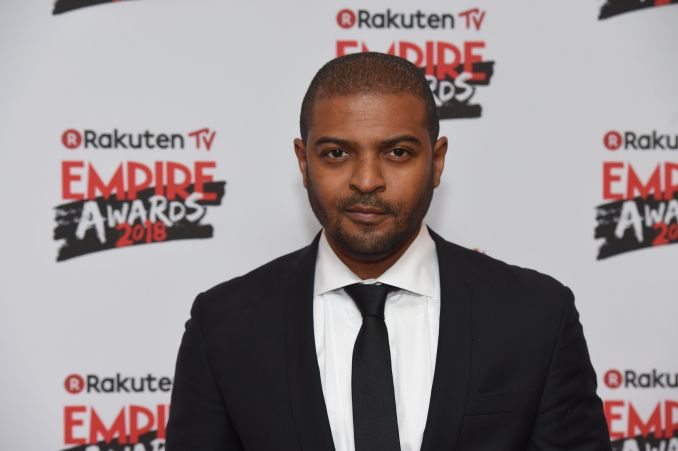 British actor Noel Clarke poses arriving for the 23rd annual Empire Awards in London on March 18, 2018.