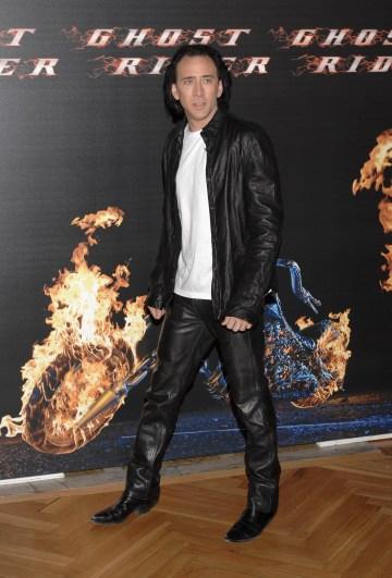Nicholas Cage as Ghost Rider