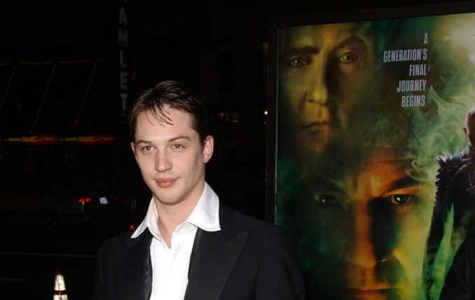 """Tom Hardy attends the premiere of """"Star Trek Nemesis"""" attends the premiere of """"Star Trek Nemesis"""" at Grauman's Chinese Theatre on December 9, 2002 in Hollywood, California."""