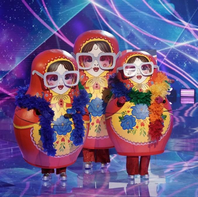 Russian Dolls Masked Singer