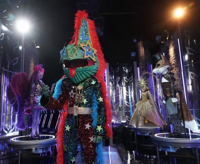 Chameleon Masked Singer Wiz Khalifa