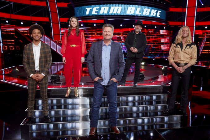 Team Blake The Voice
