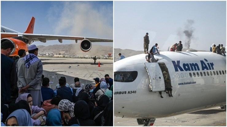 afghanistan airport video