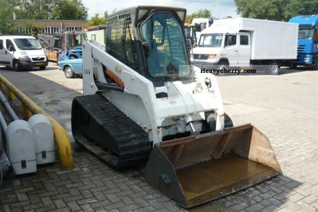 Bobcat 864 Mini Kompact Digger Construction Equipment