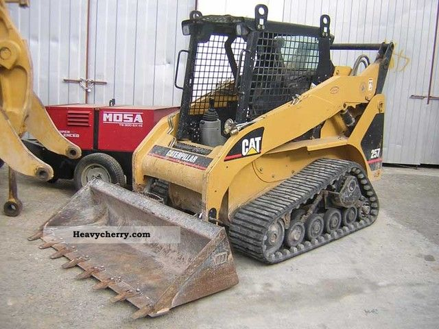Cat 257 Other Construction Vehicles Photo And Specs