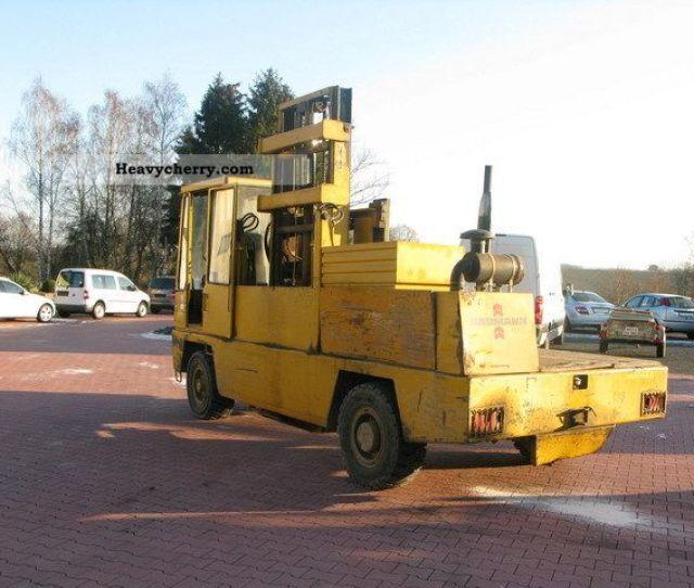1997 Baumann Sideloaders As Four Way Forklift Forklift Truck Side Loading Forklift
