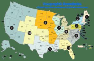 U.S. Courts Map (Credit: Wikipedia)