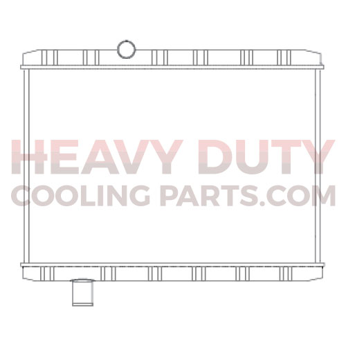 Mack Radiator 7006R | Heavy Duty Cooling Parts