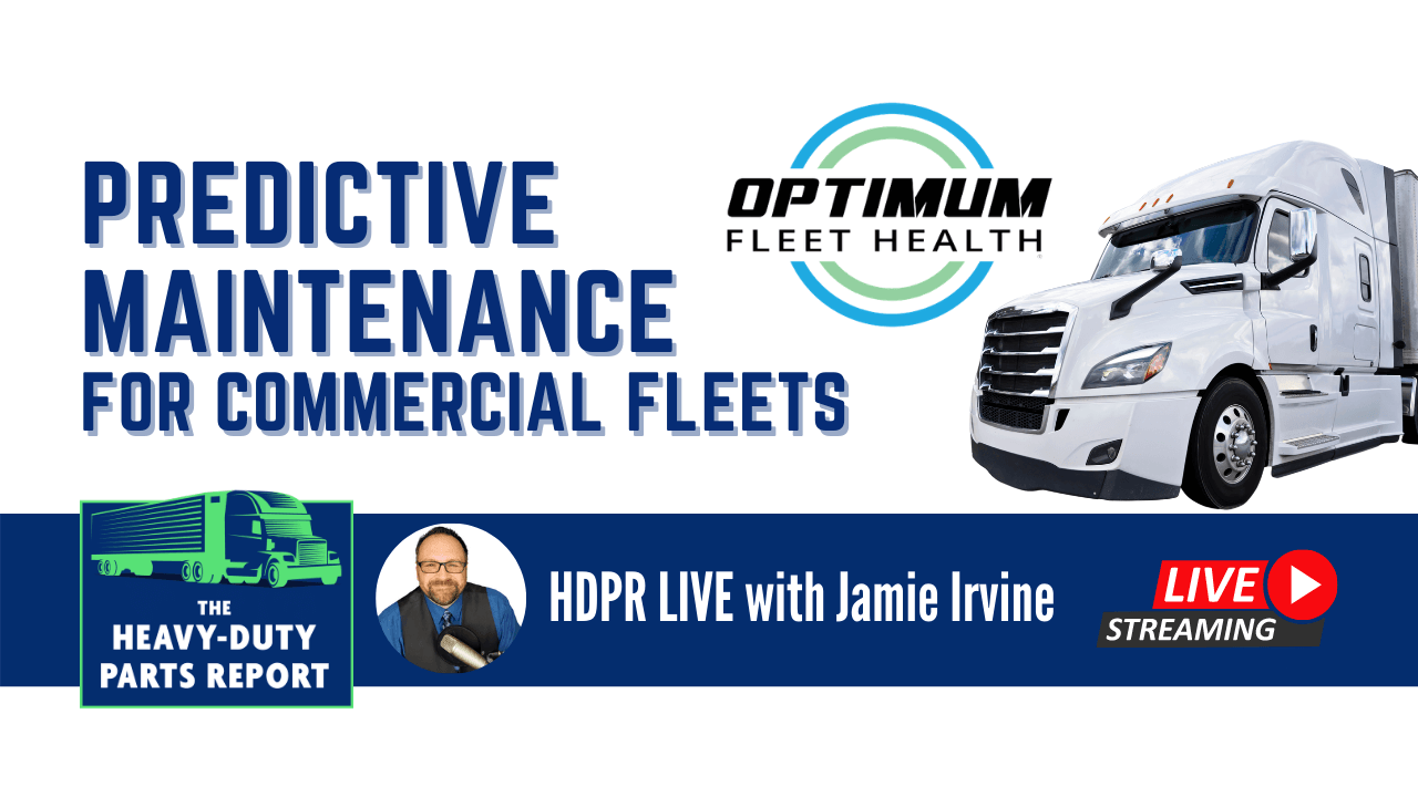 Predictive Maintenance for Commercial Fleets - Jamie Irvine interviews Klay from Optimum Fleet Health