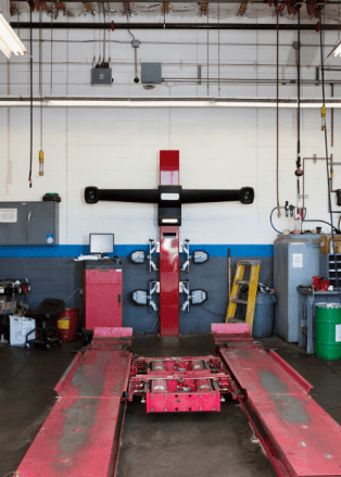 Empty Bay because of Diesel Technician Shortage
