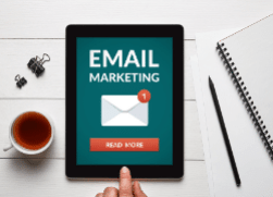 Jamie Irvine recommends email marketing for heavy-duty parts companies