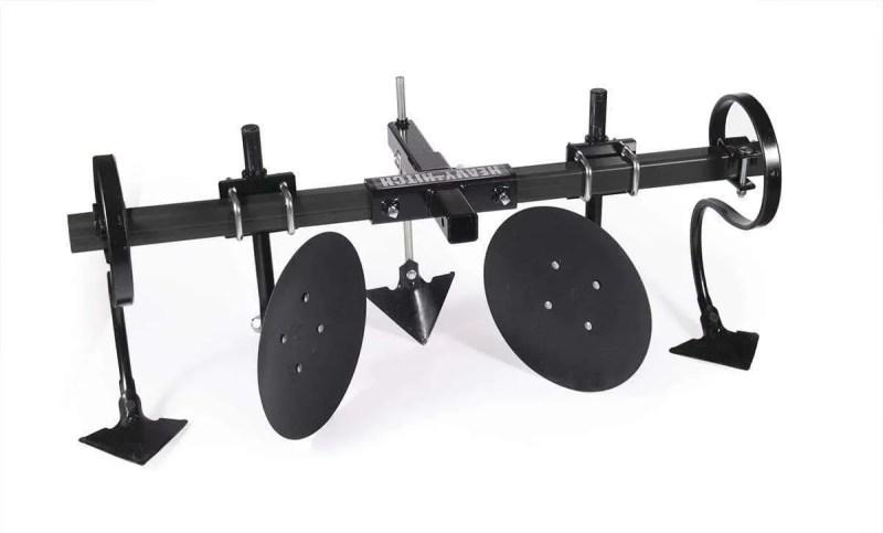 Tractor Part Heavy Wall Steel Toolbar Garden Bedder Hiller Cultivator Attachments