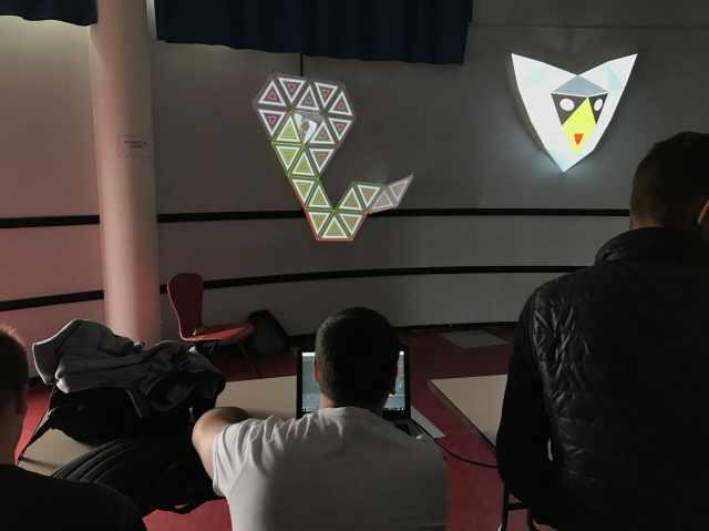 workshop at Orthez High school 1