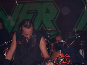 D.D. Verni and Tim Mallare, Joe's Bar, Chicago, IL 4-17-05. Picture by Heavy Metal Feline.