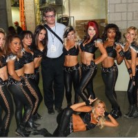 LA KISS CHEERLEADERS AND MUSIC THE HONDA CENTER LA KISS FOOTBALL 6/14/2014