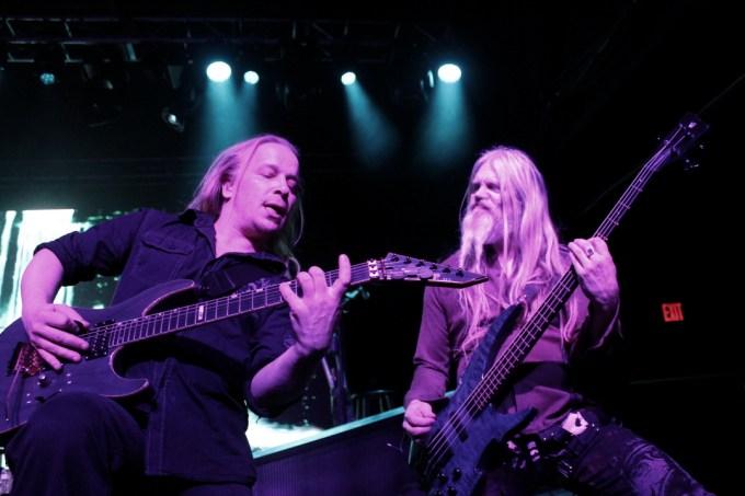 Nighwish Guitarist Emppu Vuorinen and Bassist Marco Hietala