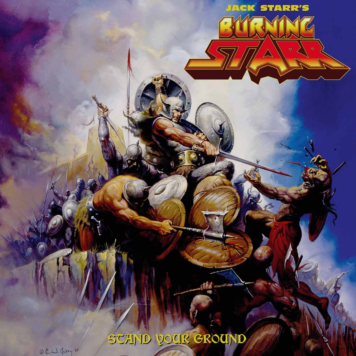 Jack Starr's Burning Star - Stand Your Ground