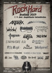 Flyer Rock Hard Festival 2019