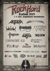 Flyer Rock Hard Festival 2019
