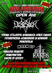 Flyer Metal Force Attack Open Air 2019