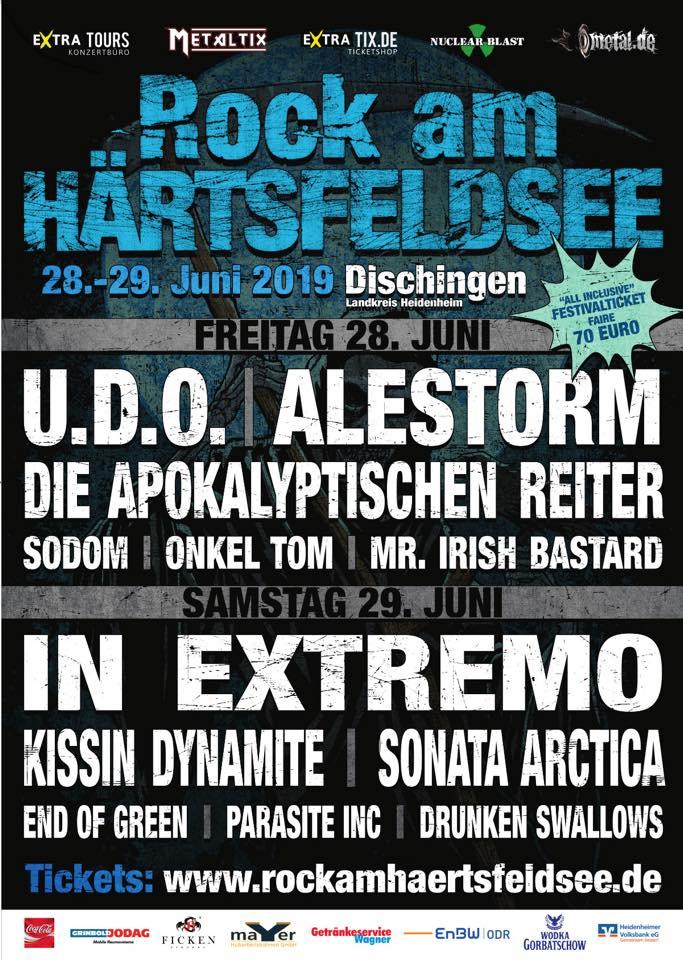 Festivalflyer Rock Am Härtsfeldsee 2019