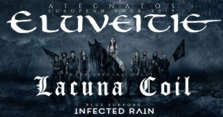 Tourflyer Eluveitie+Lacuna Coil+Infected Rain