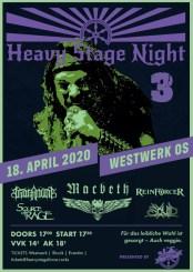 Flyer Heavy Stage Night 3
