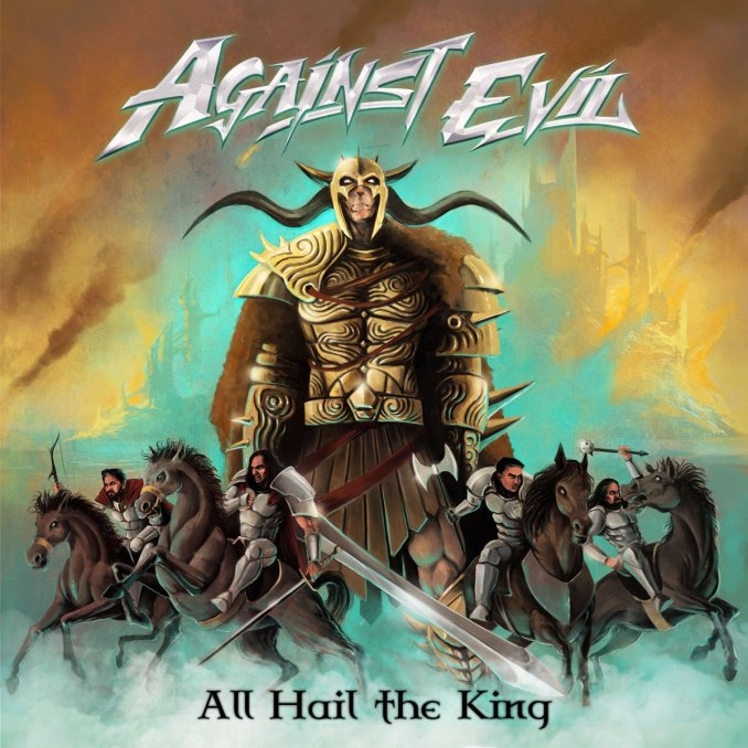 CD-Cover Against Evil - All Hail The King