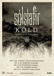 Konzertflyer Sólstafir - Köld Anniversary Tour