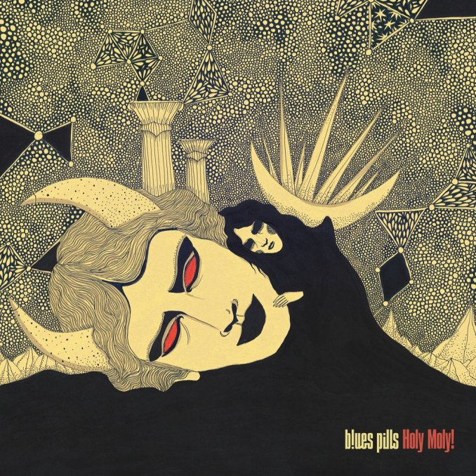CD Cover - Bues Pills - Holy Moly!
