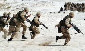 חיילים ומלחמה של חייל בודד