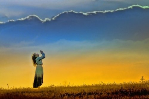 תפילה בזריחה