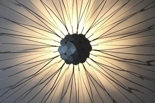 אבסטרקט רקע מנורה