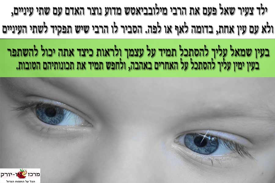 מדוע 2 עיניים?