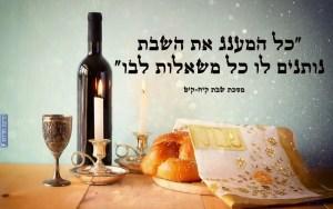 המענג את השבת
