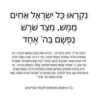 ציטוטים ומשפטים ושיעורים על ואהבת לרעך כמוך | אהבת ישראל