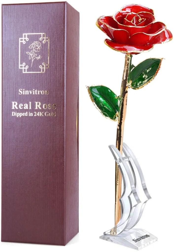 וורד לתמיד מצופה זהב רומנטי