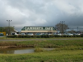 Lambert's Cafe, Home of the Throwed Rolls