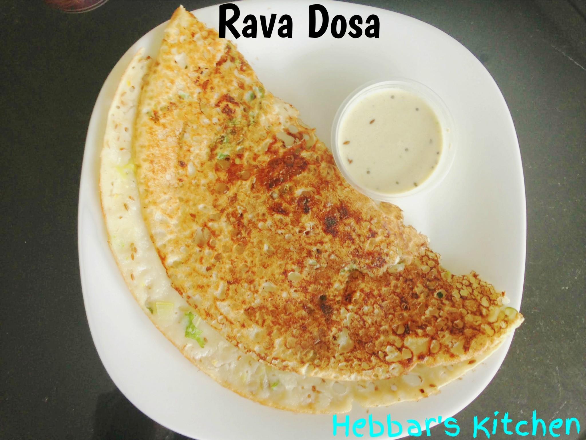 Hebbar S Kitchen Rava Dosa