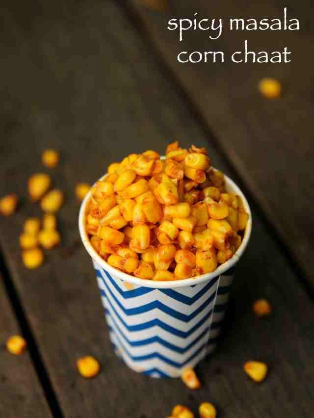corn chaat recipe  masala corn recipe  spicy sweet corn chaat